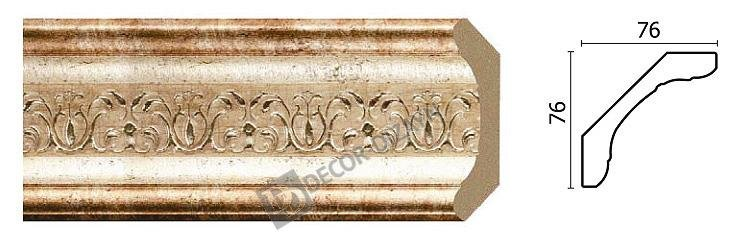 Картинка Карниз потолочный Decor-dizayn 169-127 в гипермаркете лепнины vsyalepnina.ru