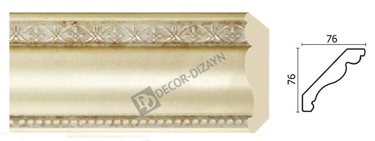 Картинка Карниз потолочный Decor-dizayn 154-937 в гипермаркете лепнины vsyalepnina.ru